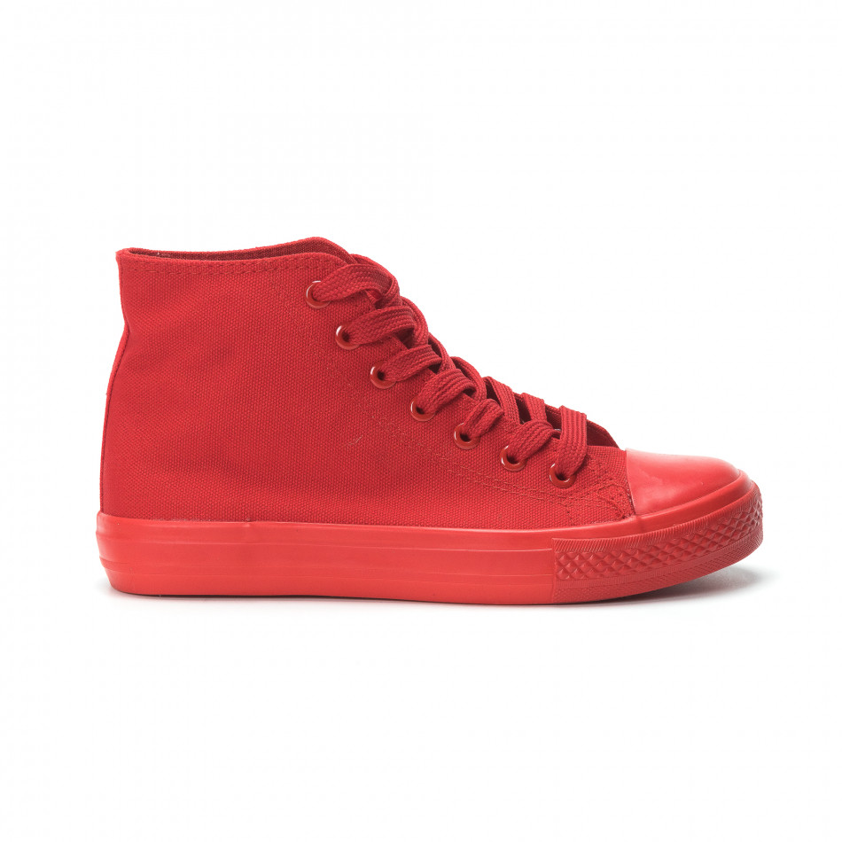 Дамски кецове в червено it250119-78