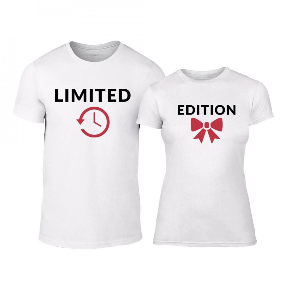 Тениски за двойки Limited Edition бели TMN-CP-161