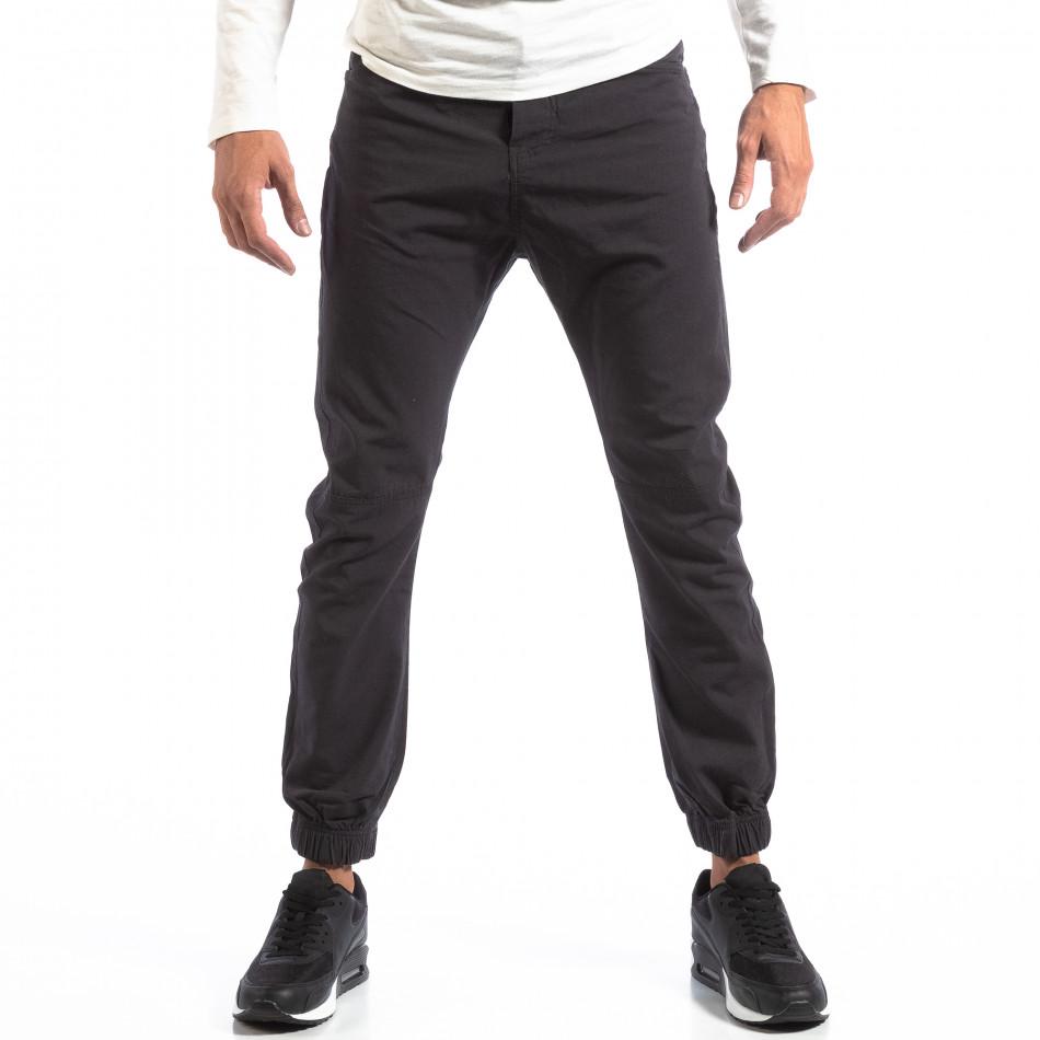 Мъжки сив лек панталон Jogger House lp290918-163