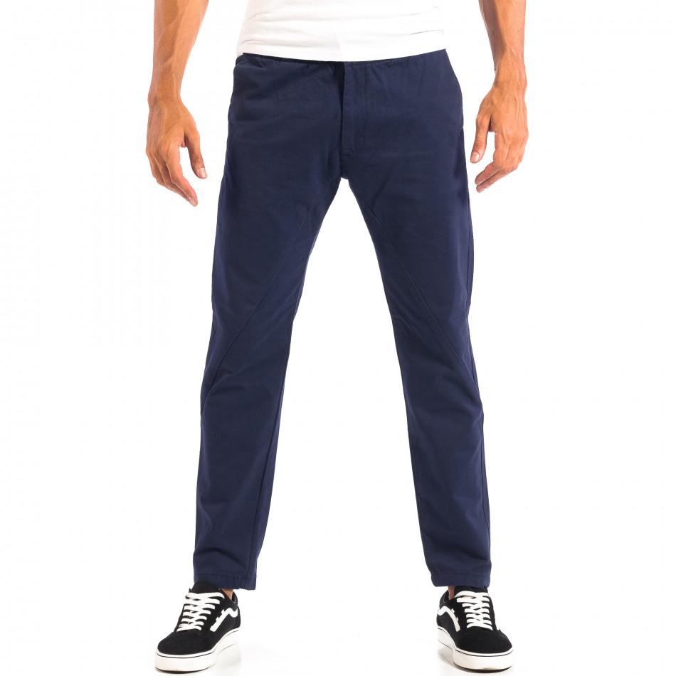 Мъжки син Chino панталон RESERVED lp060818-91