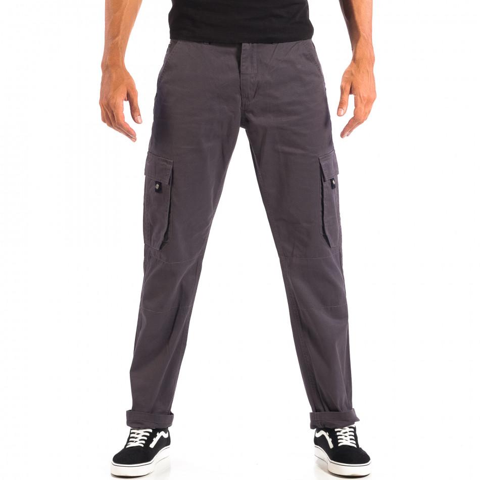 Мъжки сив Cargo панталон House lp060818-114