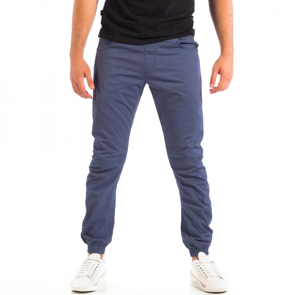 Син мъжки Jogger панталон CROPP lp060818-136