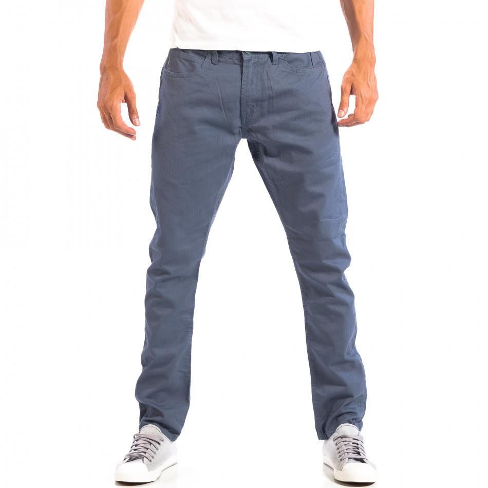 Мъжки дънки CROPP в сиво-синьо lp060818-41
