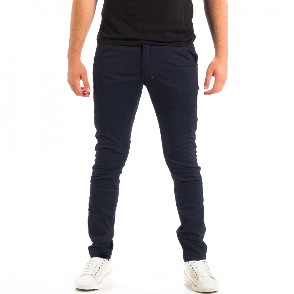 Мъжки тъмносин Chino панталон CROPP lp060818-126