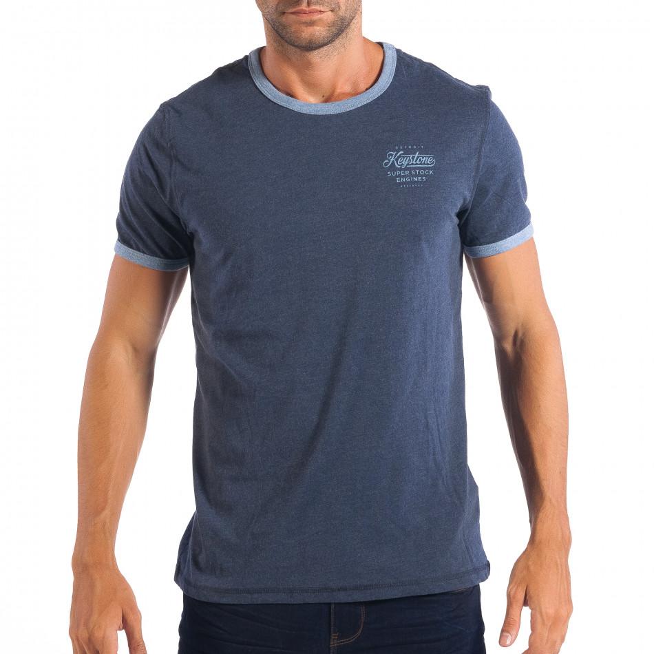 Мъжка синя тениска Reserved  lp070818-10
