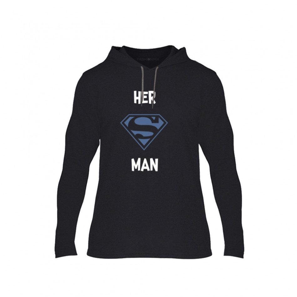 Мъжки суичър Superman Supergirl, размер XL TMNCPM152XL