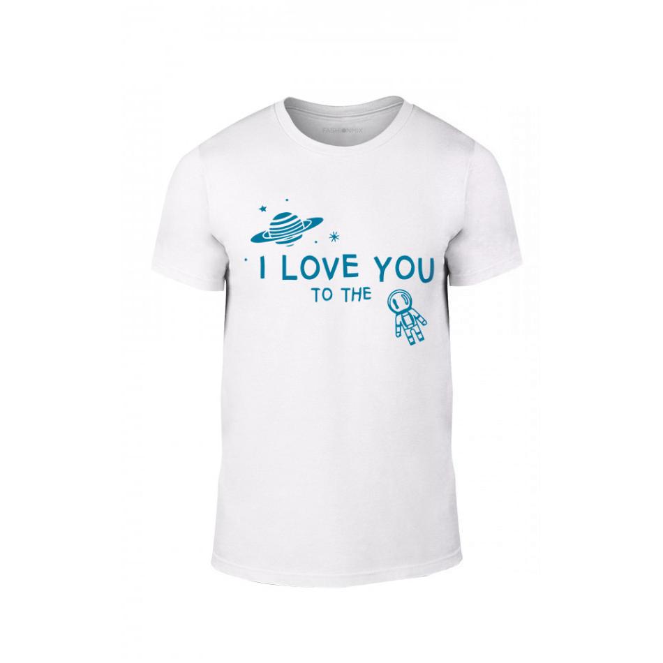 Мъжка тениска To The Moon And Back, размер L TMNLPM127L
