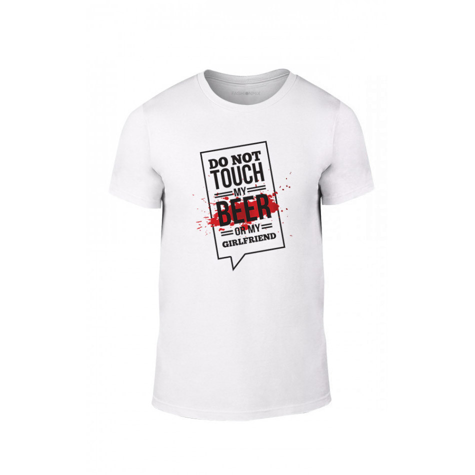 Мъжка тениска Don't touch me!, размер L TMNLPM074L