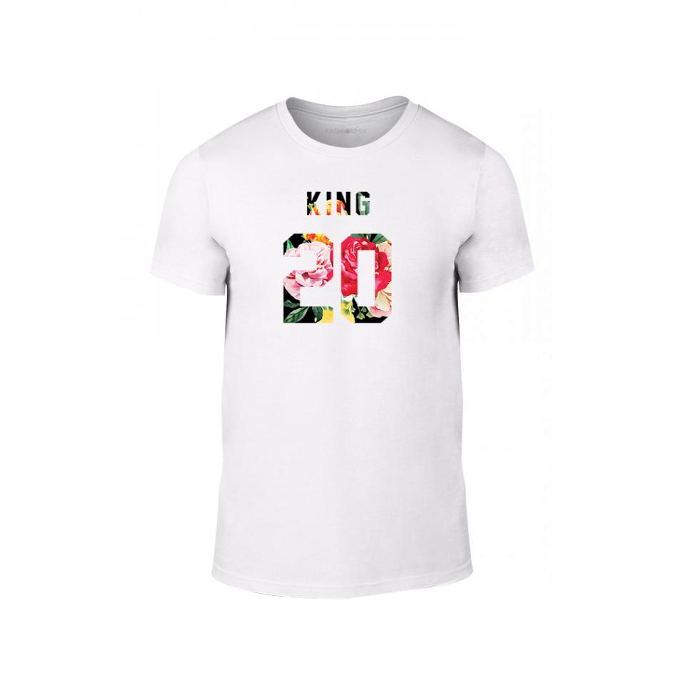 Мъжка тениска King & Queen 2018 , размер M TMNLPM217M
