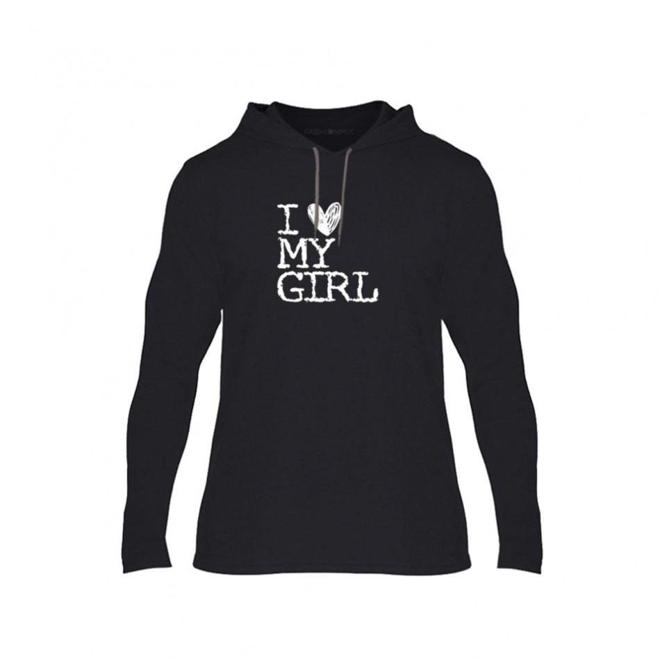 Мъжки суичър Love My Girl Love My Boy, размер M TMNCPM027M
