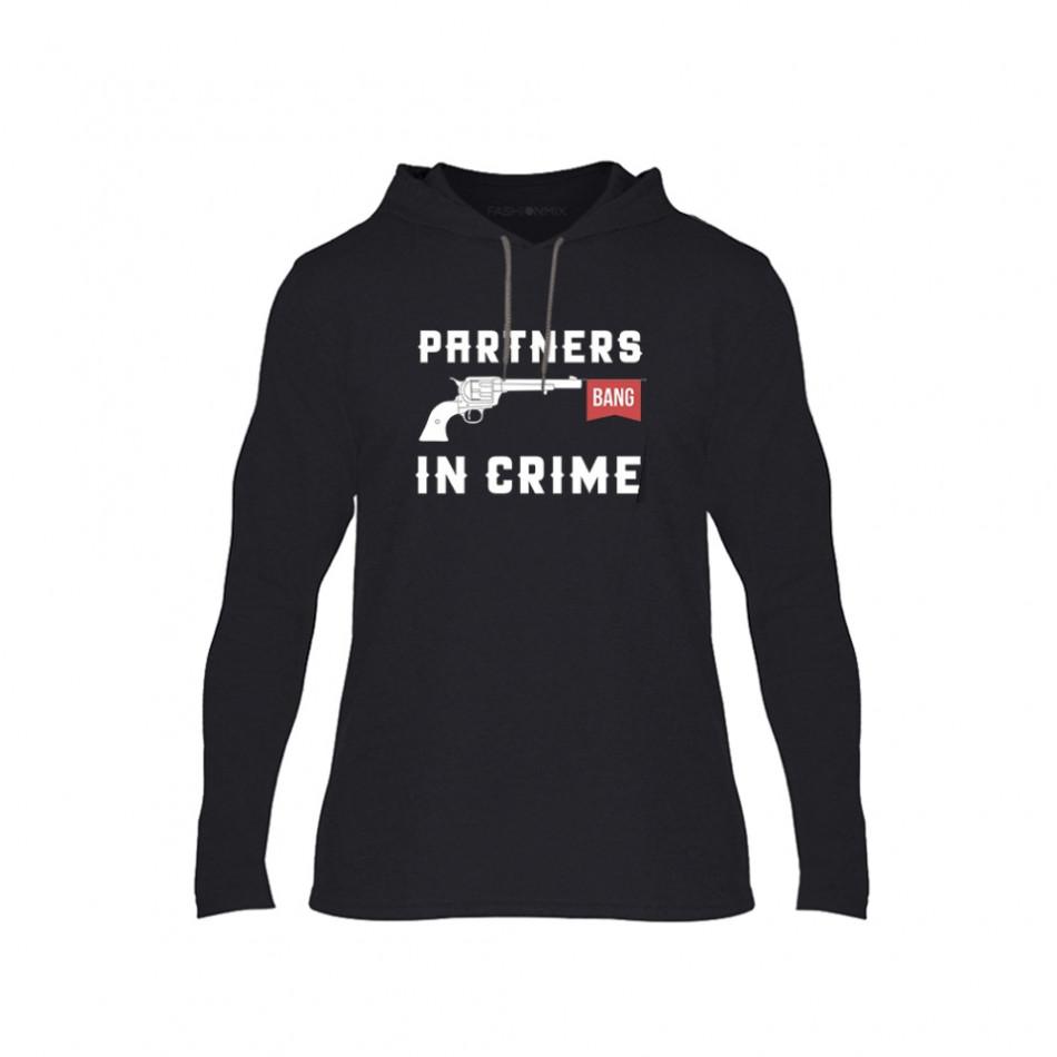 Мъжки суичър Partners in Crime, размер L TMNCPM081L