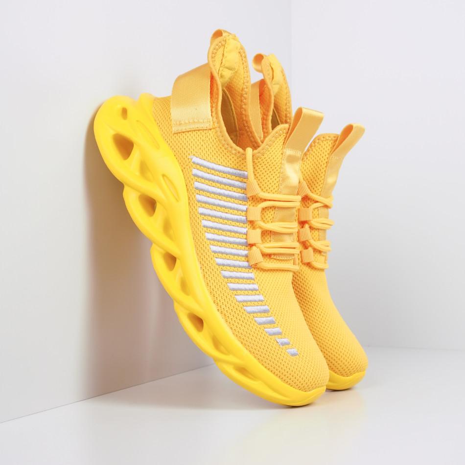 Мъжки маратонки Rogue в жълто it281119-3