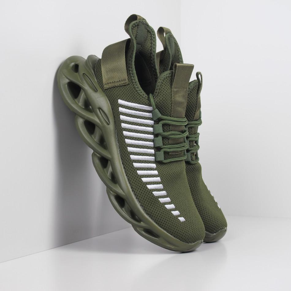Мъжки маратонки Rogue в милитъри зелено it281119-2
