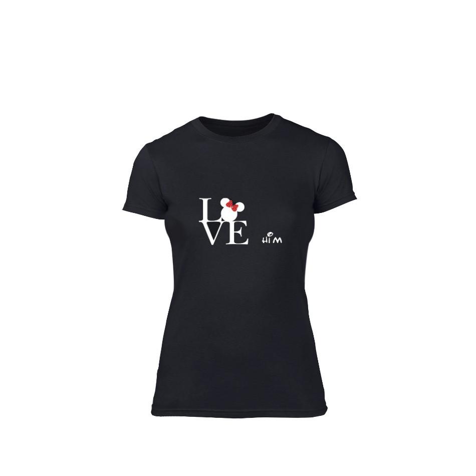 Дамска тениска Love him, размер M TMNLPF116M