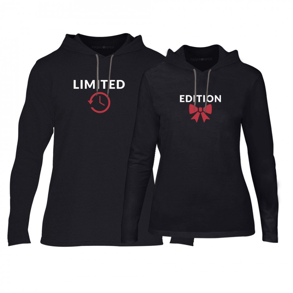Суичъри за двойки Limited Edition в черно TMN-CPS-162
