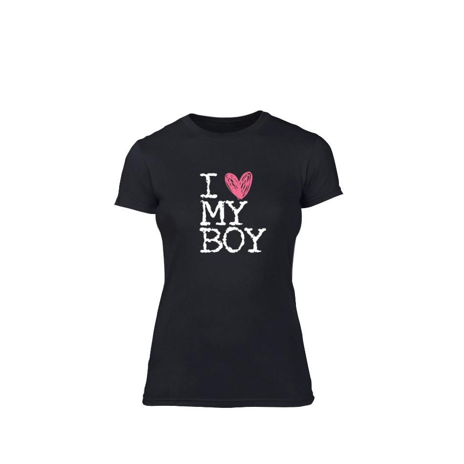 Дамска тениска  Love My Boy размер L TMNLPF027L
