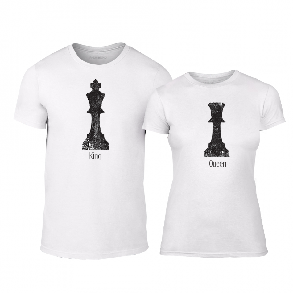 Тениски за двойки Chess бели TMN-CP-111
