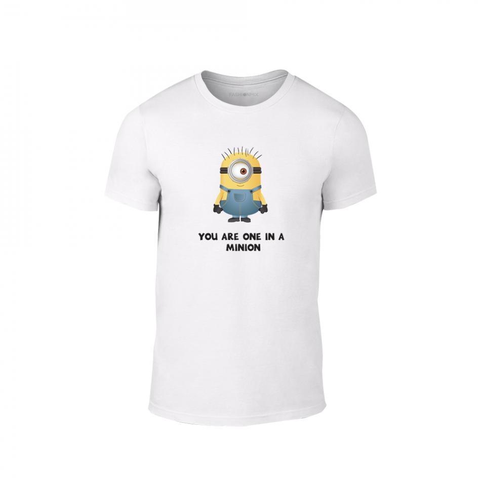 Мъжка тениска One in a minion, размер M TMNLPM229M