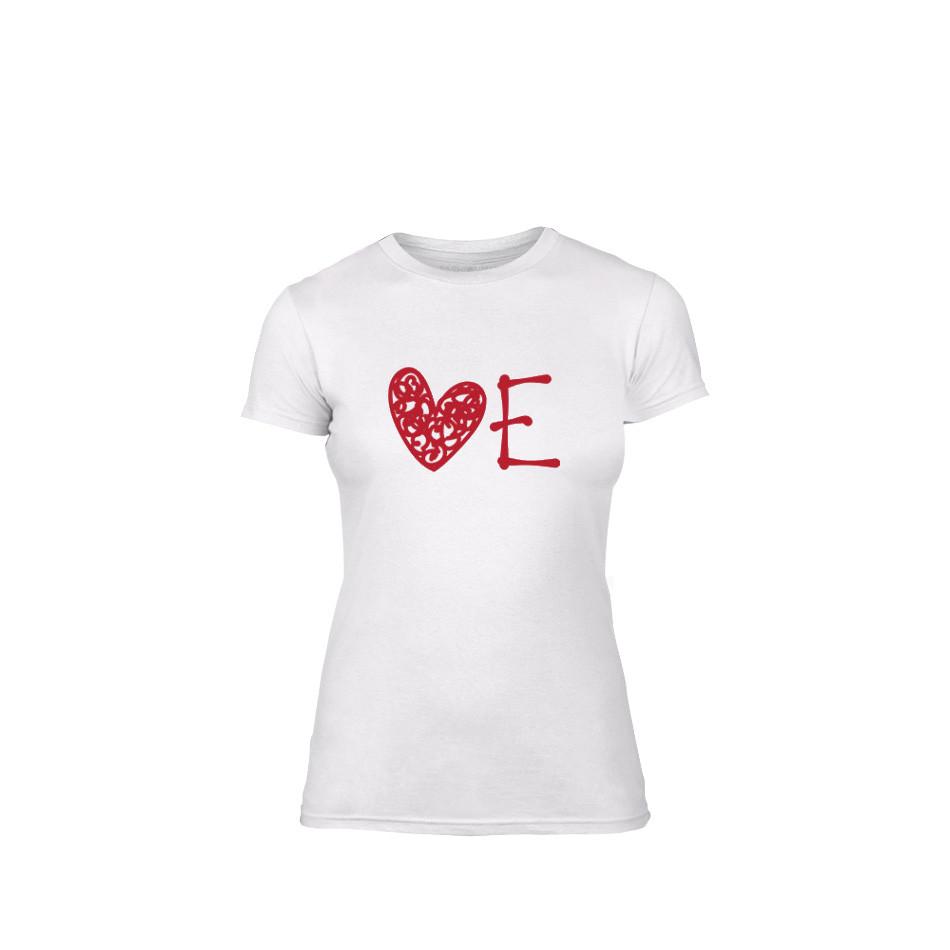 Дамска тениска Love, размер S TMNLPF052S