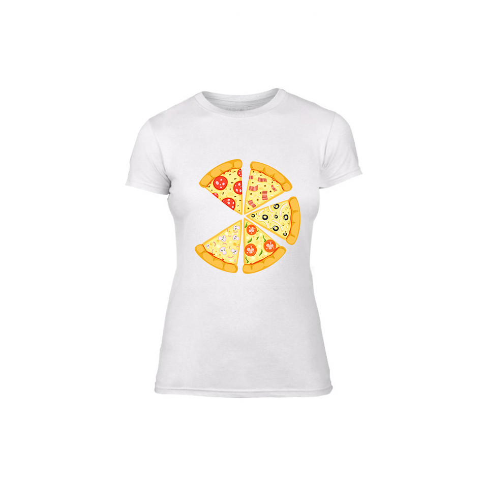 Дамска тениска Pizza, размер M TMNLPF135M