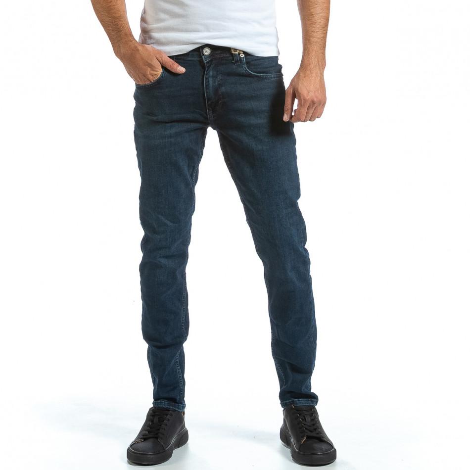 Basic Long Slim мъжки сини дънки tr070921-9