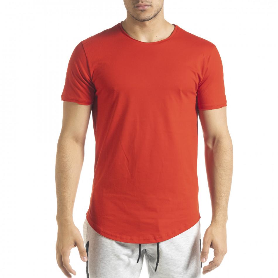 Basic мъжка тениска в червено tr080520-39