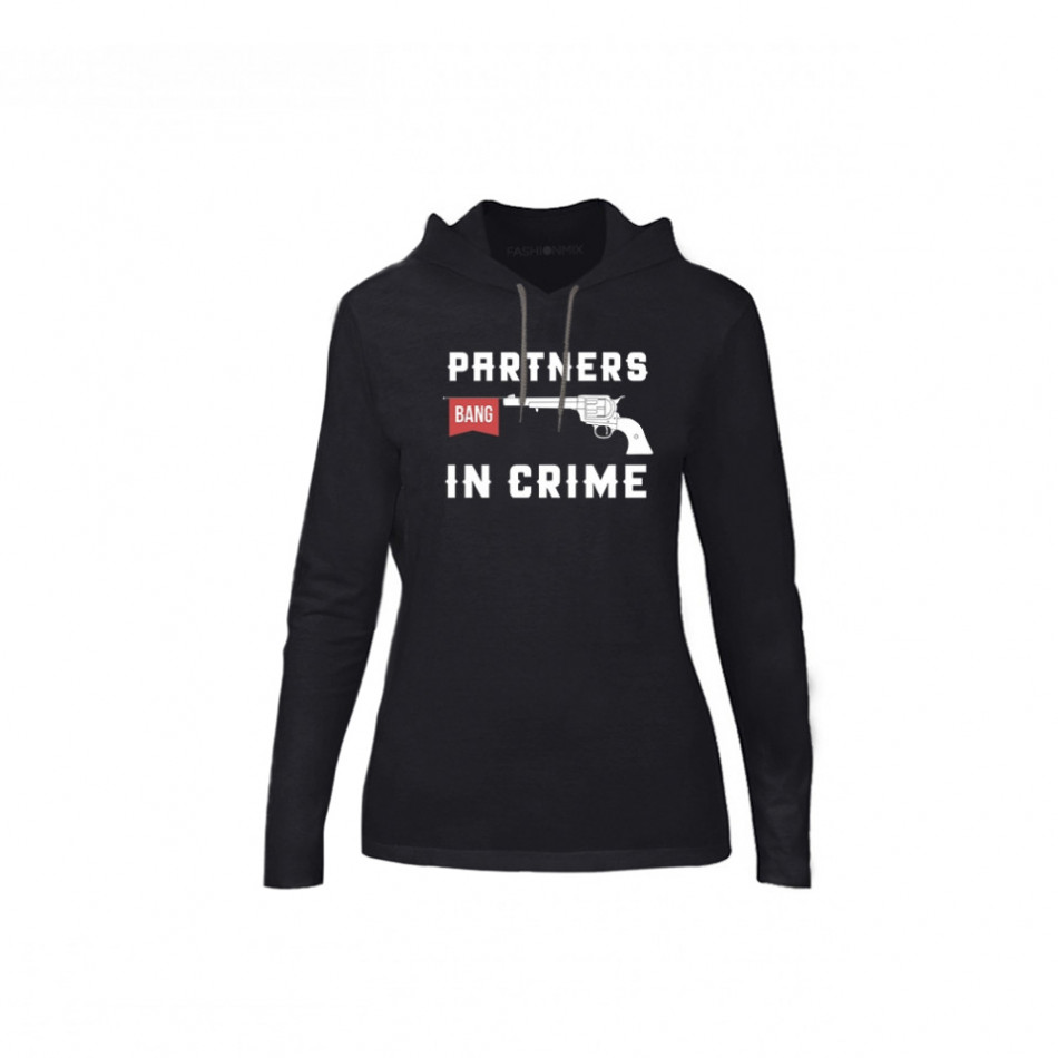 Дамски суичър Partners in Crime, размер S TMNCPF081S