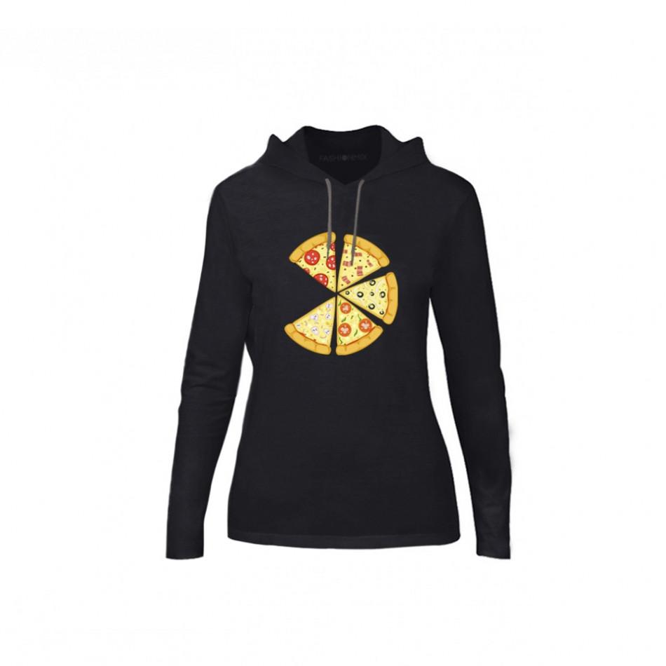 Дамски суичър Pizza, размер M TMNCPF136M