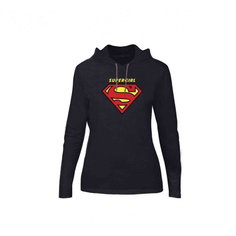 Дамски суичър Superman & Supergirl, размер S TMNCPF041S
