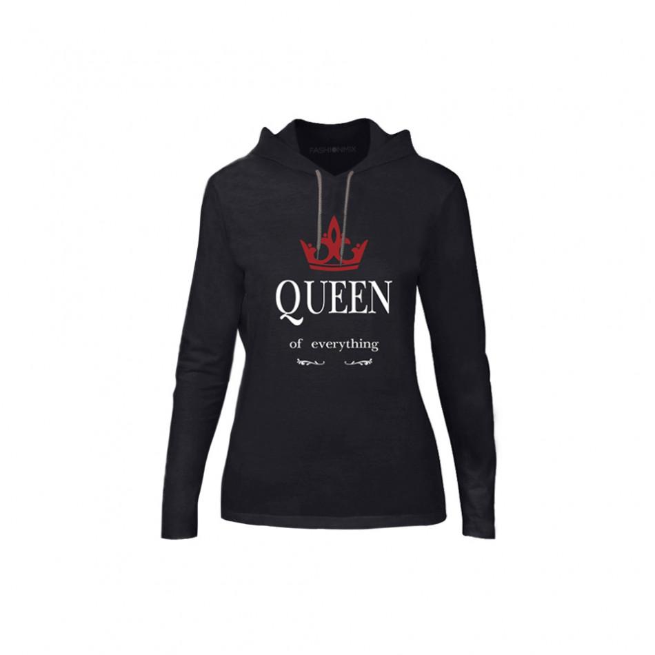 Дамски суичър King Queen, размер XL TMNCPF114XL