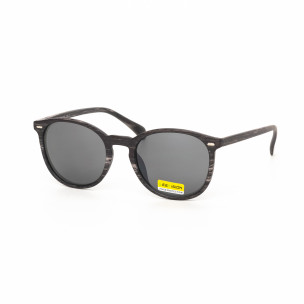 Слънчеви очила дървесна рамка кафява