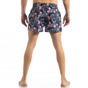 Шарен мъжки бански Tropical дизайн  2