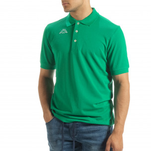 Мъжки polo shirt Kappa в зелено regular fit