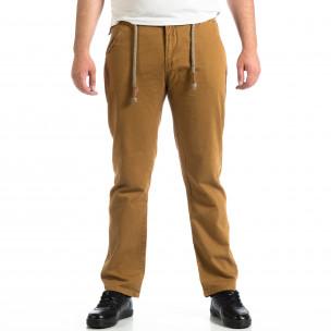 Мъжки панталон House в цвят камел