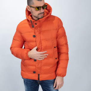 Мъжка пухенка в оранжево