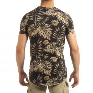 Мъжка тениска с тропически мотиви 2
