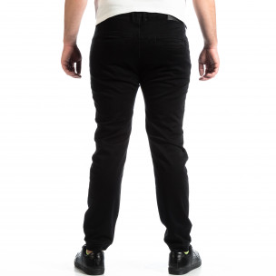 Мъжки черен панталон House тип Jogger 2