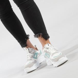 Комбинирани Chunky маратонки в нежни цветове