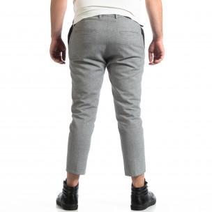Cropped панталон RESERVED в сиво  2