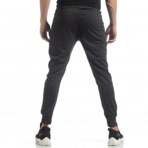 Мъжки джогър тип Biker в тъмно сиво  2