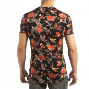 Мъжка тениска с екзотични мотиви  2