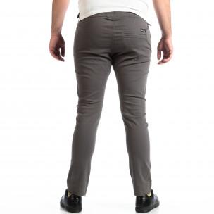 Мъжки сив панталон CROPP с ципове на крачолите 2