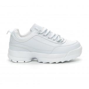 Бели дамски Chunky маратонки
