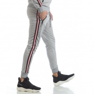 5 striped мъжко сиво долнище