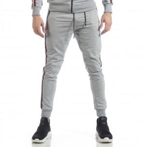 5 striped мъжко сиво долнище 2
