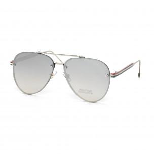 Пилотски очила с плоски стъкла огледални