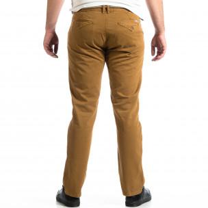 Мъжки панталон House в цвят камел  2
