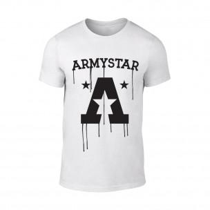 Мъжка бяла тениска Armystar