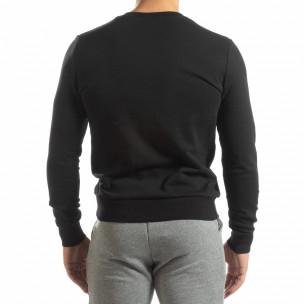 Basic мъжка памучна блуза в черно. Размер M 2
