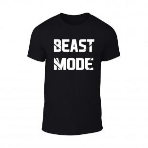 Мъжка черна тениска Beast Mode